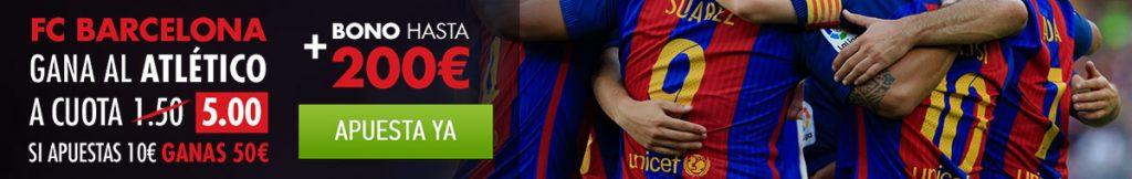 Supercuota Barça - Atlético