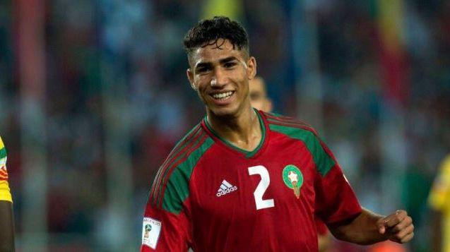 hakimi marruecos mundial2018