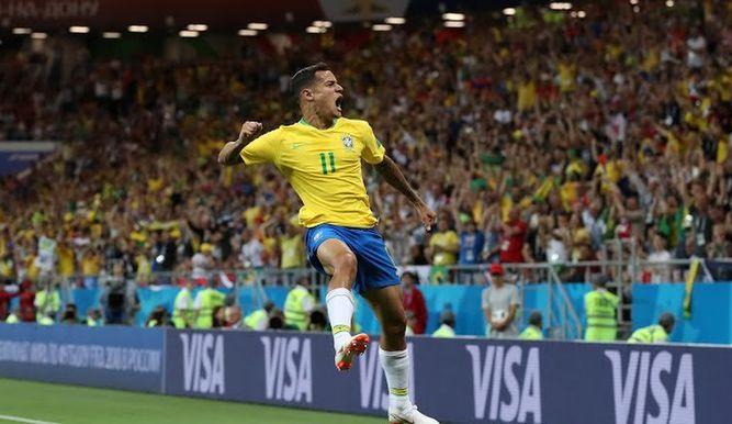 Philippe Coutinho Brasil Costa Rica