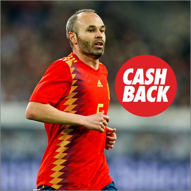Oferta amistoso España vs Suiza