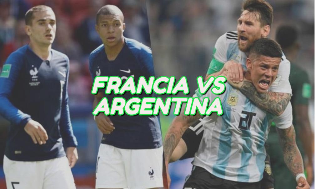 francia vs argentina octavos