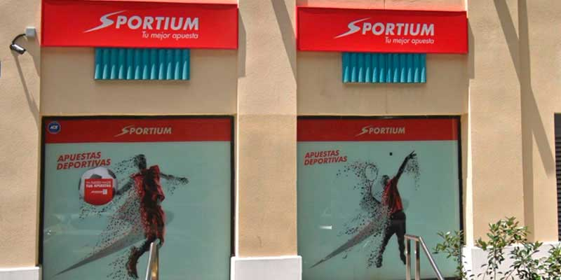 sportium cobro locales