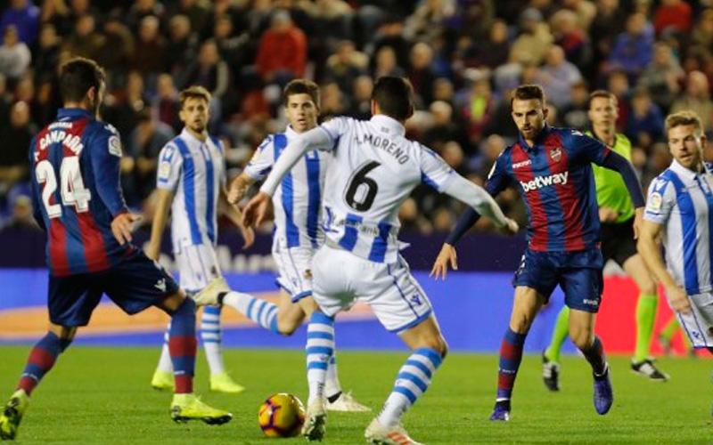 Real Sociedad vs Levante en busca de objetivos