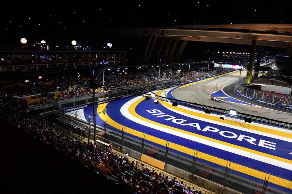 Singapur circuito f1