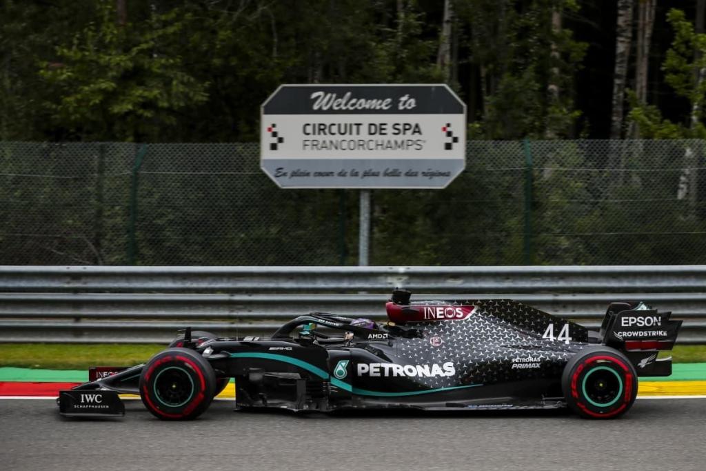 Spa circuito F1 2021