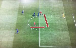 Asistencia de gol fútbol
